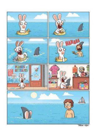 Chudák králíček:D