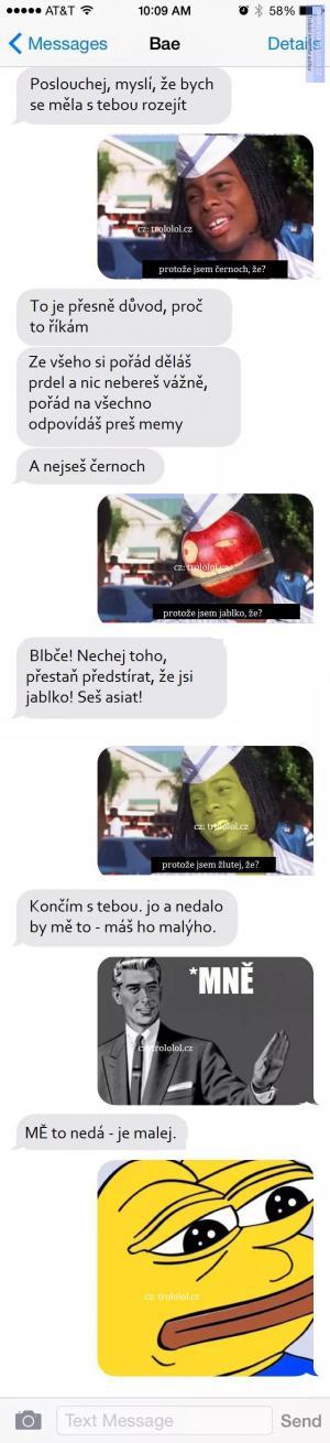 Meme rozchod