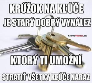 Kroužek na klíče