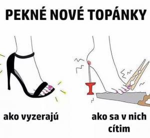 Nové topánky
