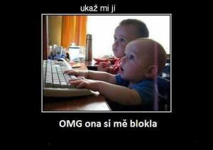 Děti a FB