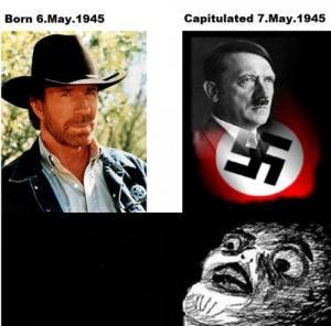 Chuck Norris a Hitler