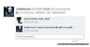 Voldemort hraje Farmville