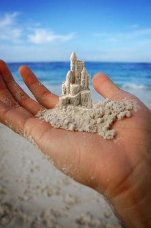 Písek a trpělivost
