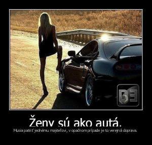 Ženy jako auta