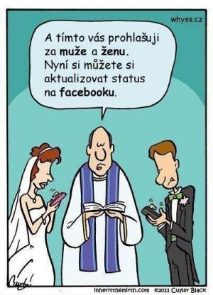 Svatba s FB