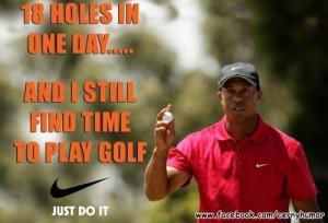 18 dír za den a stejně má čas na golf