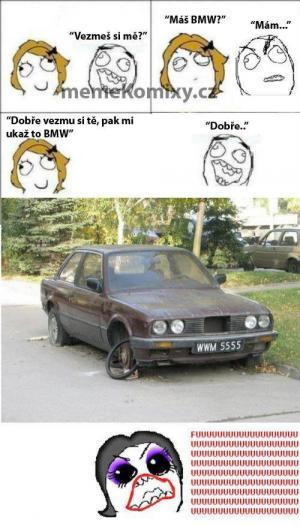 meme komix s BMW