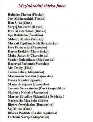 Srandovní jména