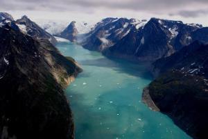 Ledový kaňon