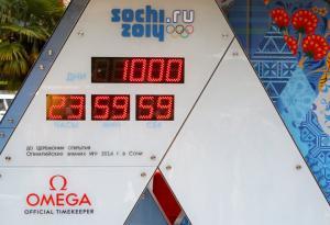 Odpočítávání do Ruské zimní olympiády