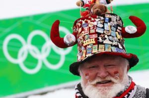Olympijský fanoušek