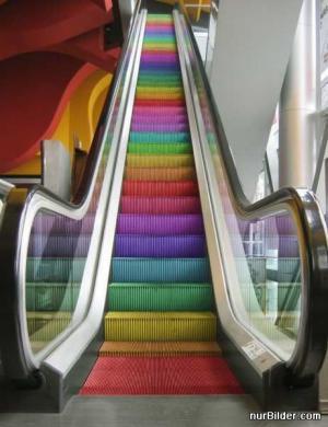 Duhový eskalátor