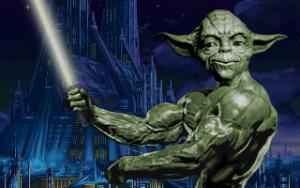 nabušený Yoda