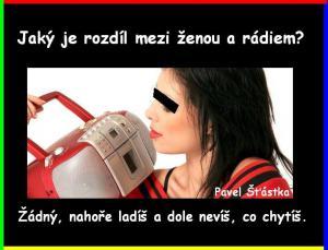 Radio vs žena