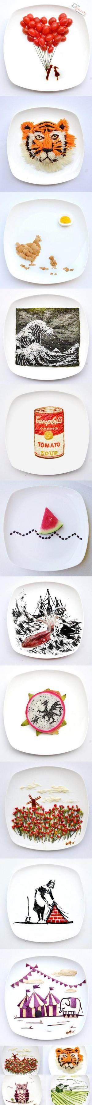 Obrazy z potravin