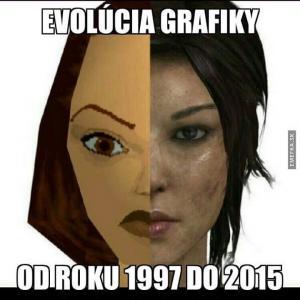 Evoluce grafiky