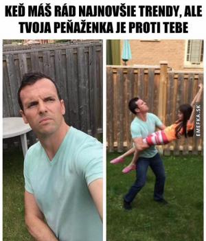 Vlastní selfie tyč