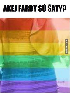 Barva šatů
