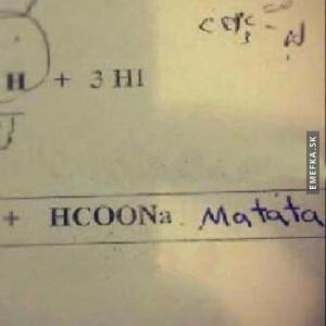 Chvilka chemie