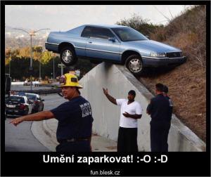 Umění zaparkovat!