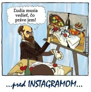 Instagram dříve