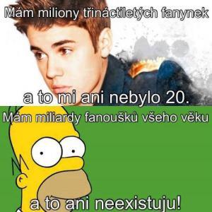 Bieber a Homer