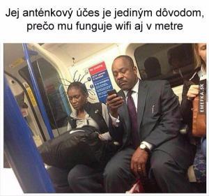Wifi v metru
