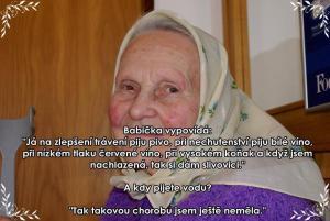 Babička alkoholička