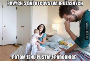 Prvních 5 dní otcovství