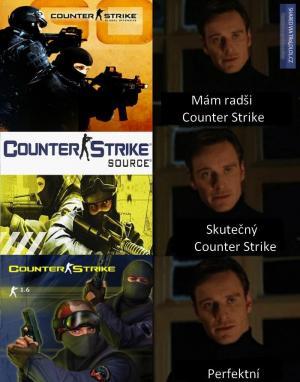 Counter Strike ve třech verzích