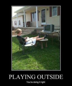 Hraní venku
