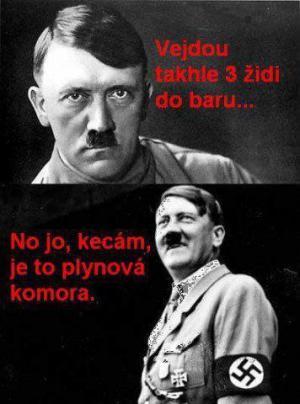 Hitler a vtip