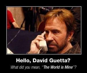 Chuck a David