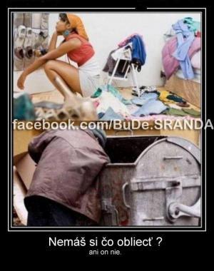 Není oblečení