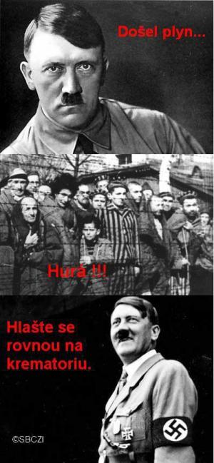 Hitler a plyn