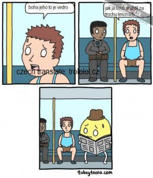 Problém v buse