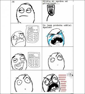 SMS od přítelkyně