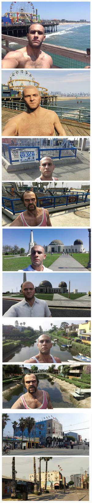 GTA selfies