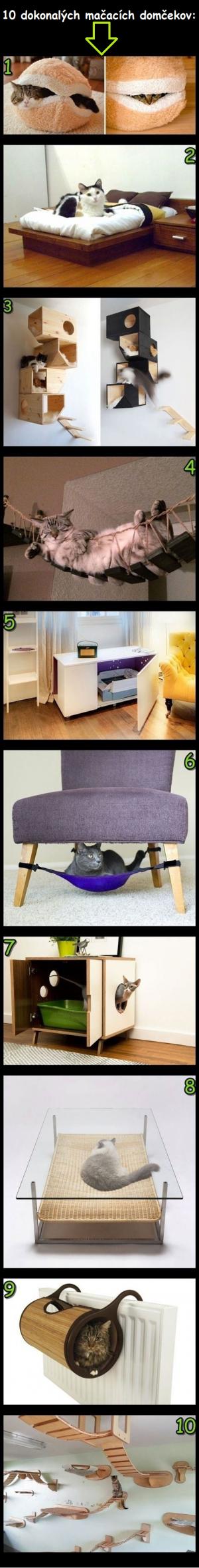 Ty nejlepší kočičí pelíšky