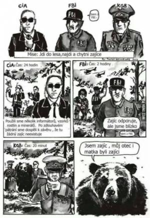 CIA, FBI, KGB