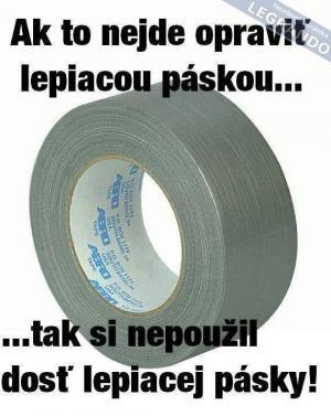 Lepící páska
