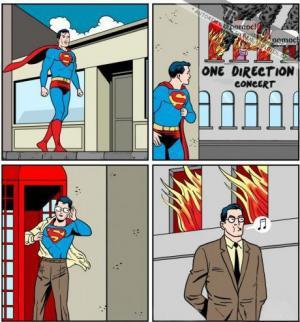 skvělá práce, Supermane!