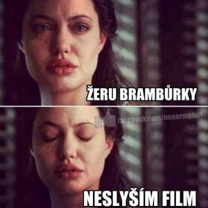 Když se dívám na film