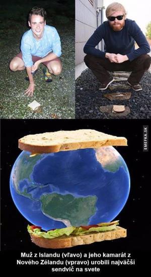 Největší sendvič na světě
