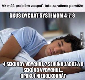 Rada se spánkem