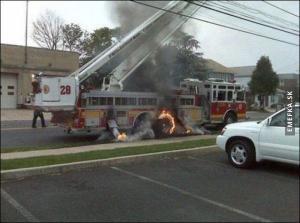 Když začnou hořet hasiči