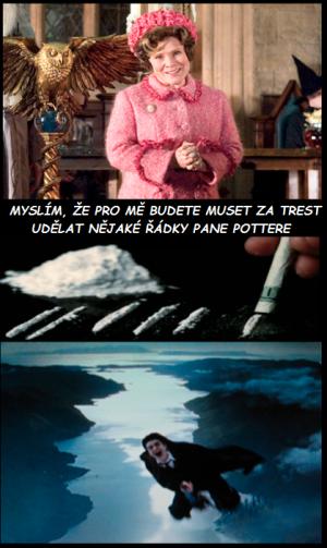Trest pro Harryho:D