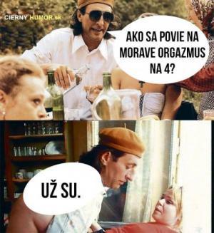Orgasmum na Moravě