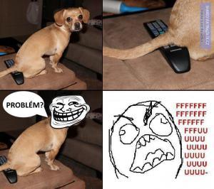 Troufalý psík